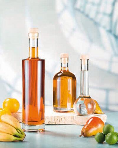 Korkverschlussflaschen Glasflaschen