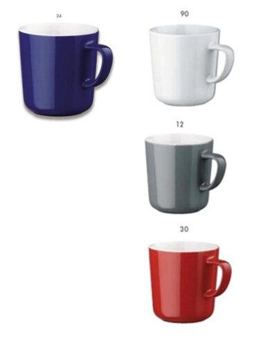 Keramikbecher MOK mit Farbglasur RD04362