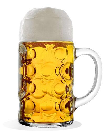 ISAR_Bierkrug_1L_mit_Bier