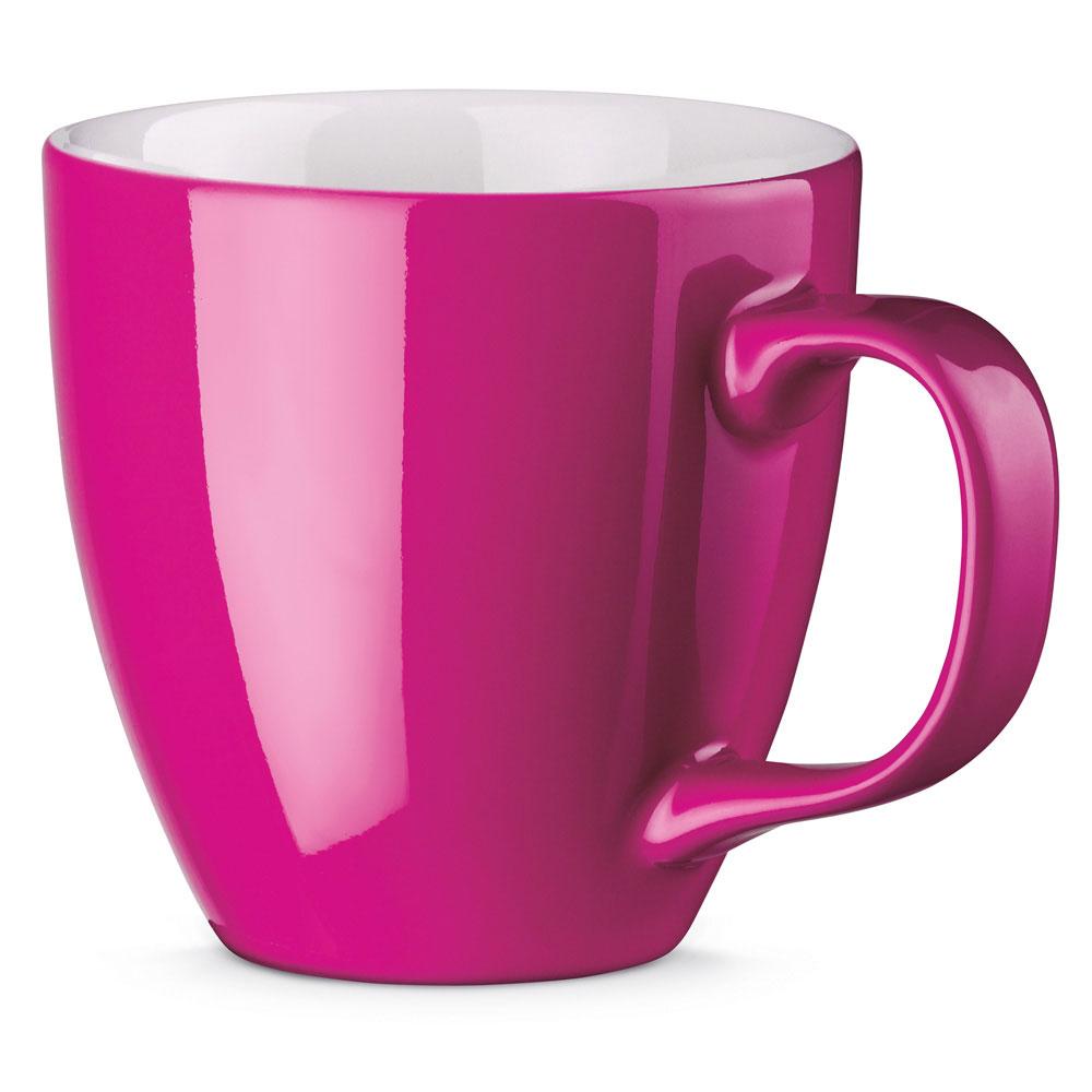 Porzellantasse per Hydrolack farbig PINK oder MAGENTA gespritzt