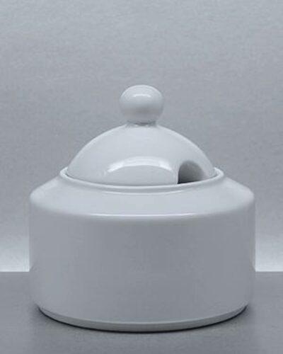 Zuckerdose Porzellan Form BISTRO