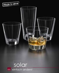 Glasserie SOLAR Trinkgläser Tumbler Set