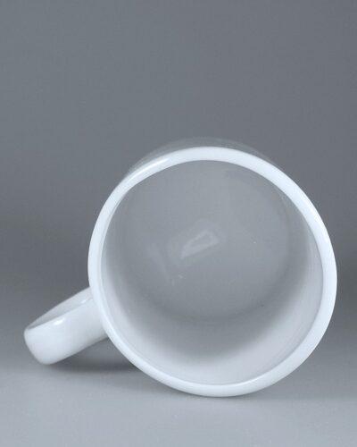 Innenseite schreager Becher PISA II Porzellantasse handgefertigt