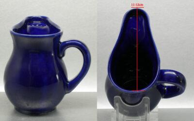 Feuerzangnbowle Feuerzangenbecher 25cl Keramiktasse blau