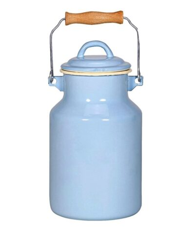 Emaillekanne Milchkanne milk jug enamel 2ltr oder 4ltr