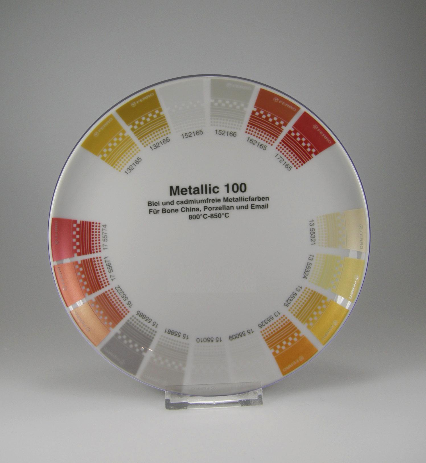 Metalicfarben Ersatzgold Ersatzsilber Kupfertöne