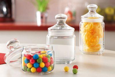 Aufbewahrung Glasdose Vorratsdose mit Deckel Pot Club
