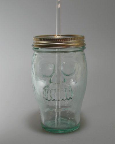 Totenkopfglas - Skull glasses rueckseite bedruckbar